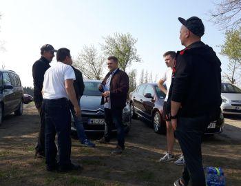 Sprzątanie Brzegu Zalew Zegrzyński 21.04.2018