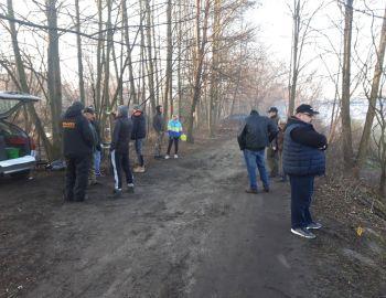 Gruntowe Zawody GPX (I Tura).31.03.2019.Kanał Królewski Aleksandrów.