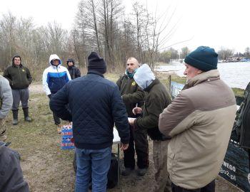 Gruntowe Mistrzostwa KOŁA PZW 22.(I Tura) Zalew Zegrzyński 13.04.2019