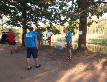 Otwarte Zawody Spławikowe o Puchar Koła 22 Zegrze Płd. 1.09.2019 Kanał Żerański Kobiałka.